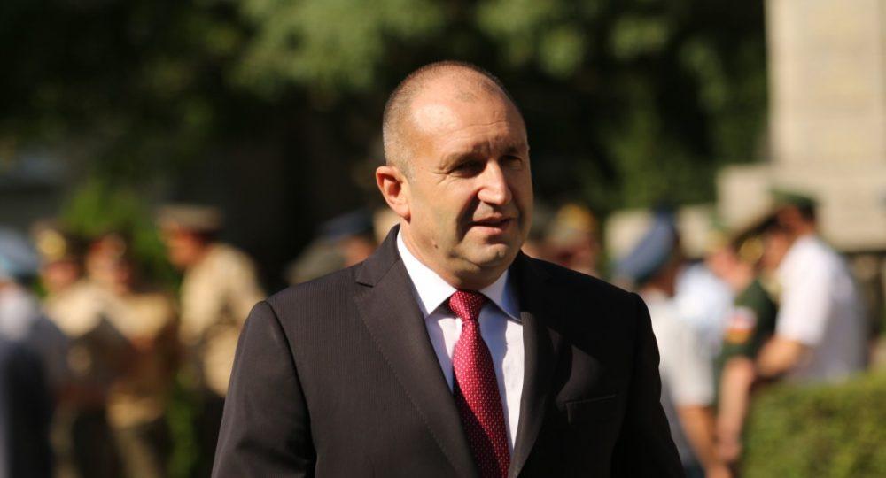 президентът на България Румен Радев