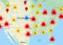 Google Maps показва болните от коронавирус