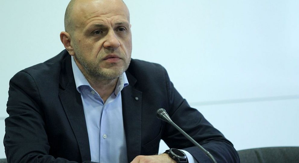 Вицепремиерът на България Томислав Дончев