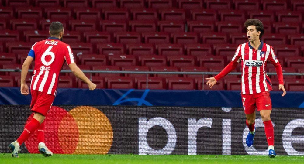 Жоао Фелиш за Атлетико Мадрид