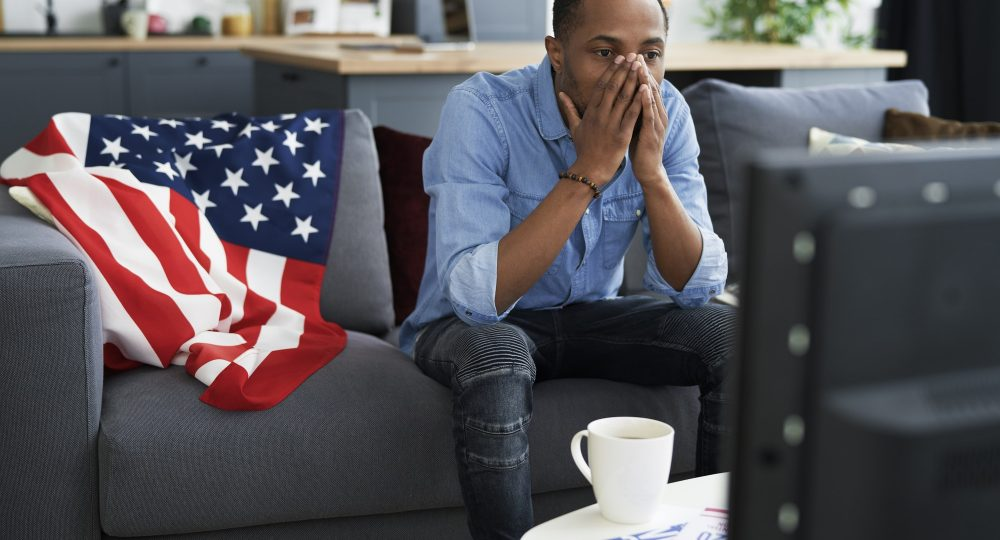 Black man disappointed with USA election results