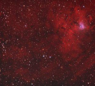 galactic hydrogen nebula