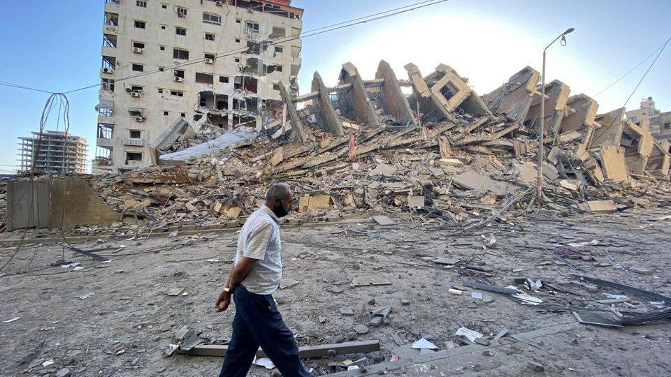 Разрухи в Гиза